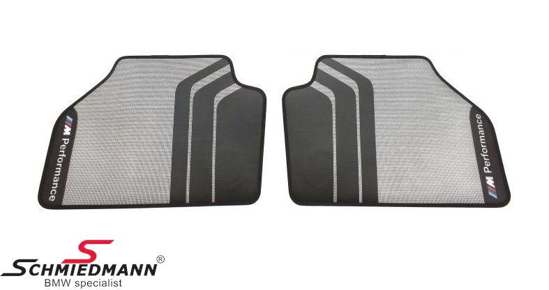 "Floormats ""BMW ///M-Performance"" front, original BMW"