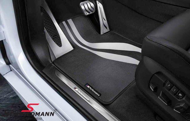 """Fussmatten vorne """"BMW ///M-Performance"""", original BMW"""