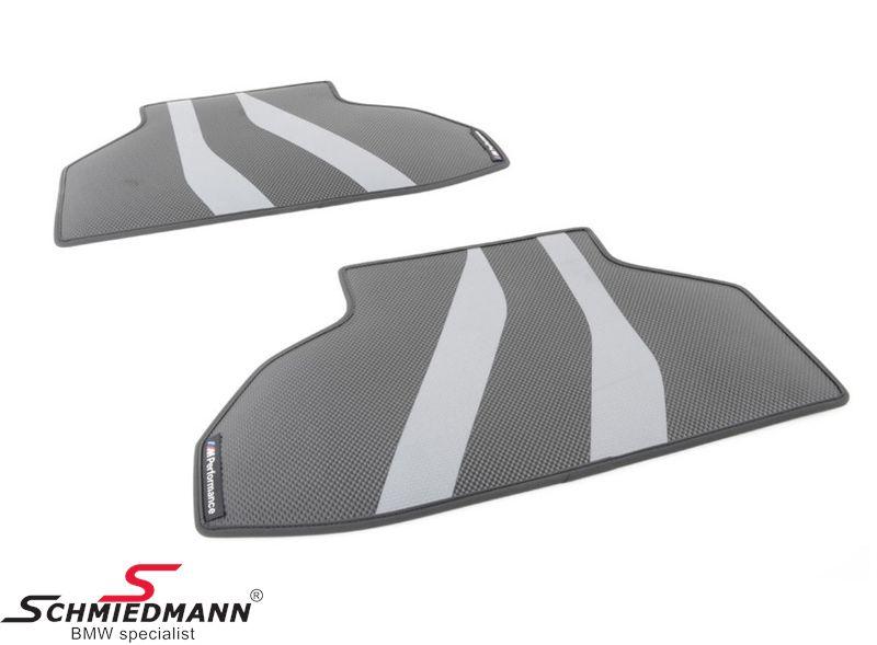 "Floormats ""BMW ///M-Performance"" rear, original BMW"