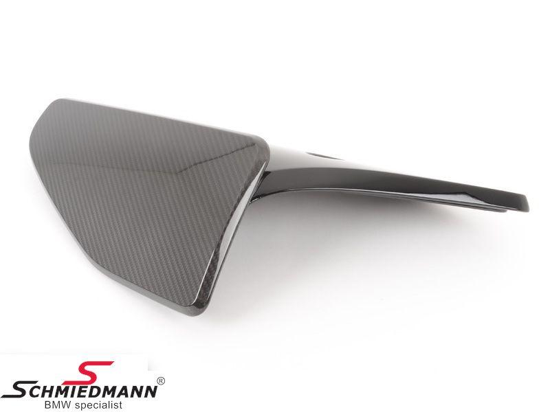Rear skirt spoiler flap carbon -BMW ///M-Performance- for M-Technic rearskirt/M-Aerodynamic rear bumper R.-side