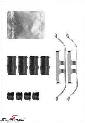 Fjederklemme-sæt (2stk. 1 aksel) til bremse-kalibre for