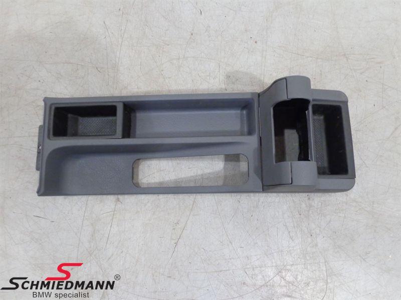 Armrest kit Black/Gray