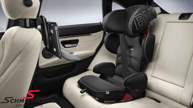 Child seat original BMW -Junior Seat 2/3- black/anthracite, 0-13kg. (can be used with Isofix base 82-22-2-348-233, must be bought separately)