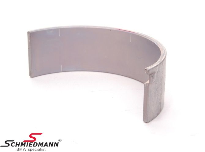 Connecting rod bearing, red 50.00MM standard size, pr. bearing half