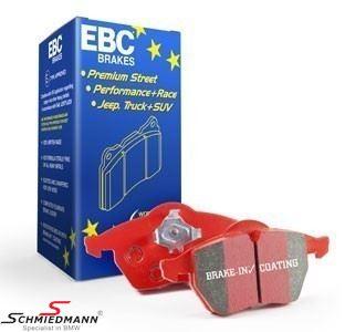 EBC RedStuff bromsbelägg bak