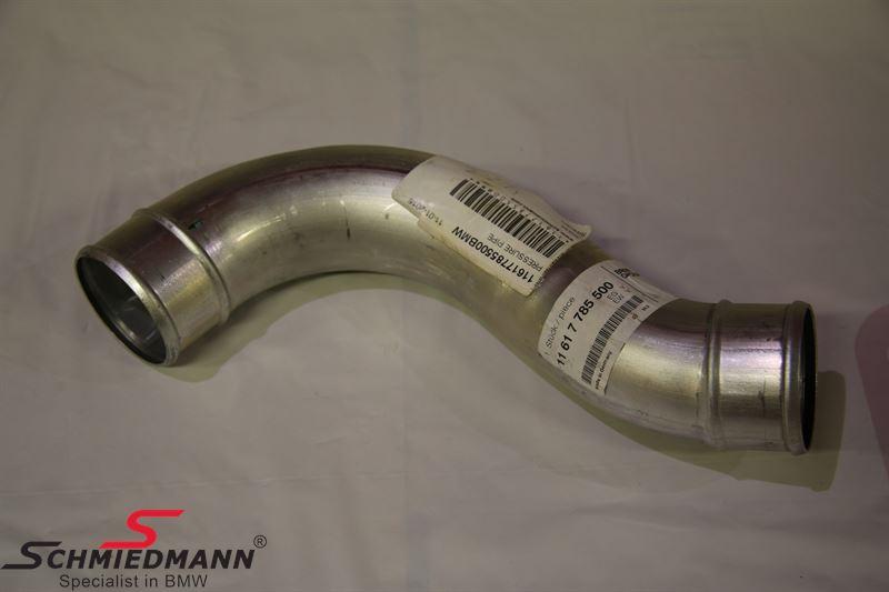 Tryckrör aluminium mellan turbo och intercooler M57 - BMW Original
