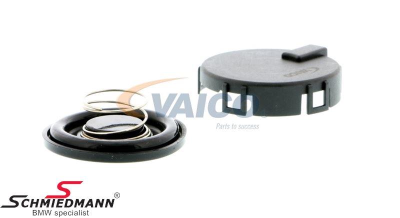 Krumtap-udluftnings-ventil i ventildæksel<br>(Bemærk: Originalt kan denne ikke købes løst, der skal man have et komplet ventildæksel)