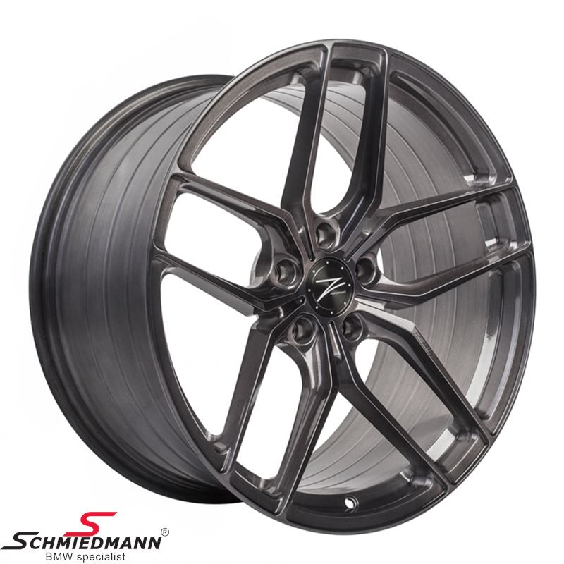 "20"" Z-Performance FlowForged -Type ZP2.1- rim 11x20 ET40, Brushed Liquid Metal (fits only rear)"