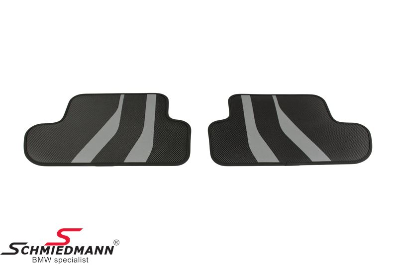 "Floormats ""BMW ///M-Performance"" rear, original BMW"