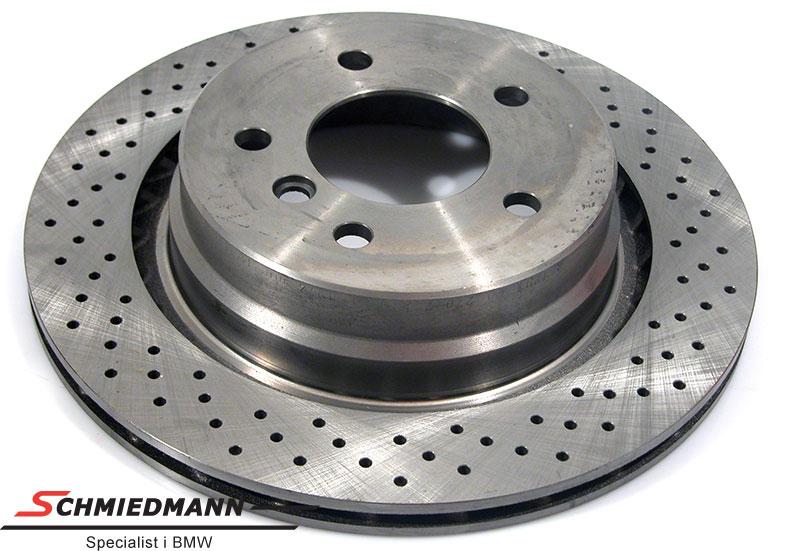 Racing brake disc rear 312X20MM jäähdytetty with holes Zimmermann R.-side