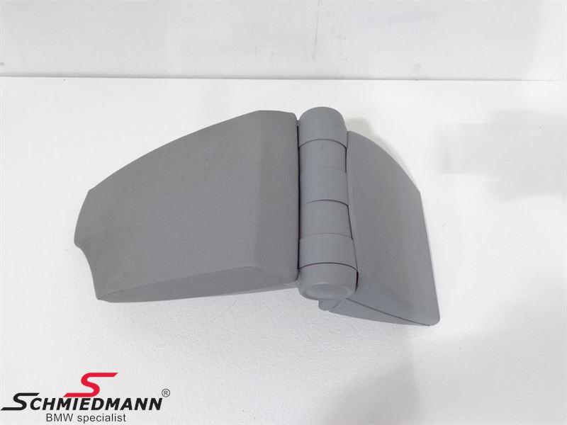Armrest kit imitat grey