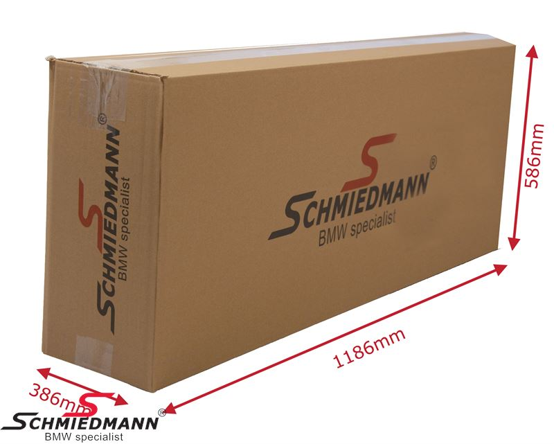 Schmiedmann carboard box with logo 1800X140X560MM (strong 7mm thick version)
