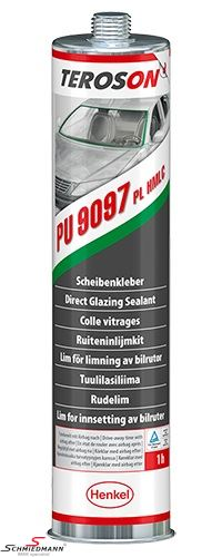 Windscreen glue mounting kit Terostat 9097 310ML. Primerless fast drying