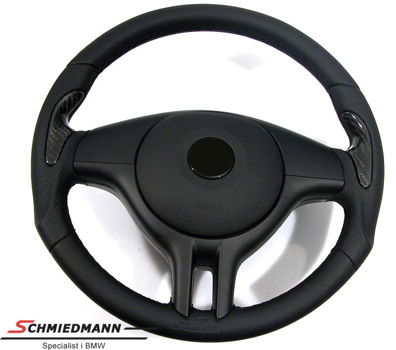 Schmiedmann Sportsrat 3 eger læder håndbyg.m.ægte carbon indlæg 375MM