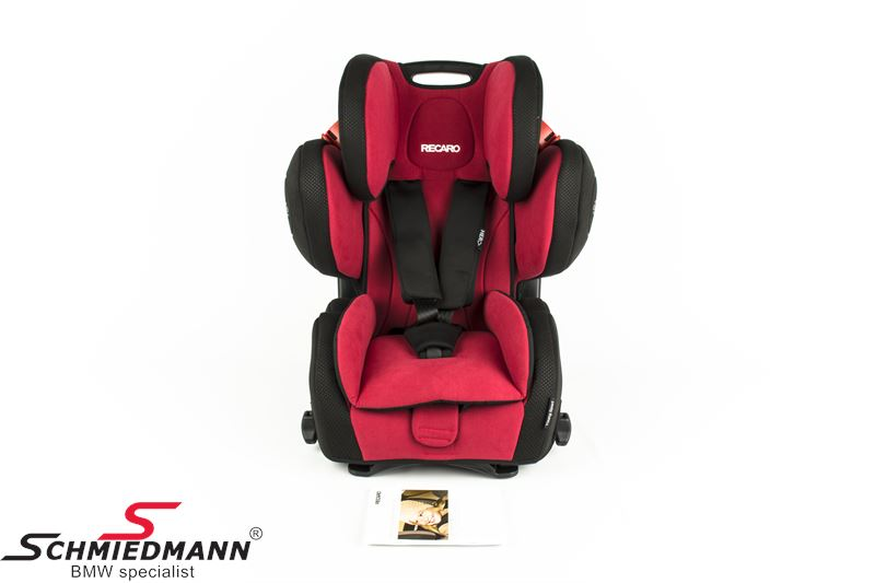 Child seat original Recaro -Young Sport Hero- Ruby, 9-36kg. (without Isofix)