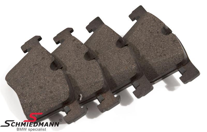 Brake pads front - original Hella-Pagid Germany
