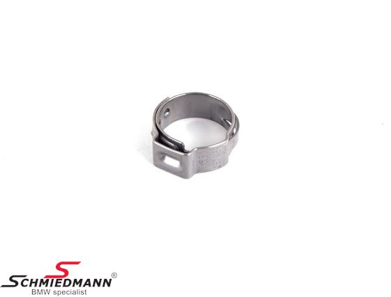 Hose clamp D=12,8-15,3MM - Original BMW
