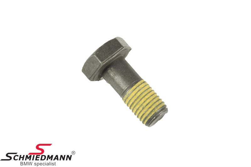 Bolt for the flywheel M12X1,5X28, for models with manual transmission