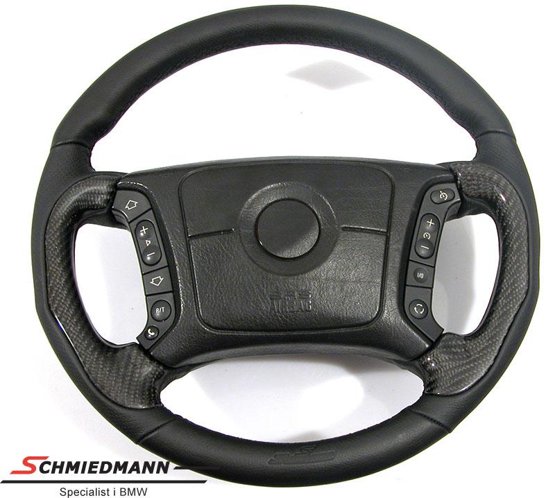 Sportsrat Schmiedmann 4 eger læder håndbygget med ægte carbon indlæg 385MM