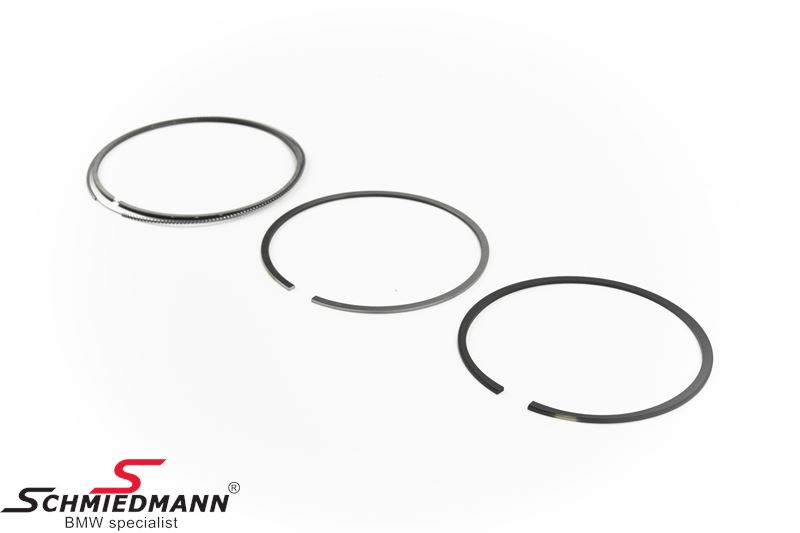 Piston rings standard size, set for one piston