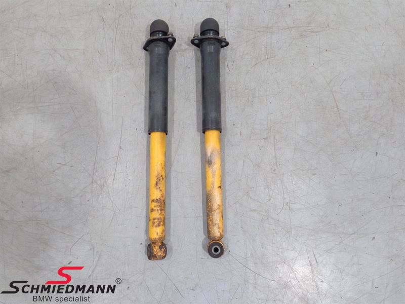 Shock absorber set rear