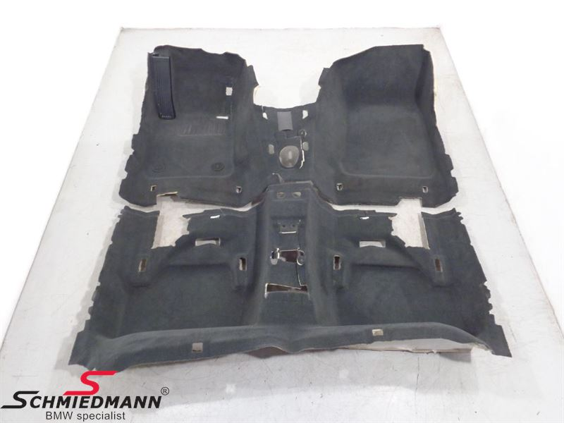 Floor Covering Front + Rear Part Anthrazit (black)
