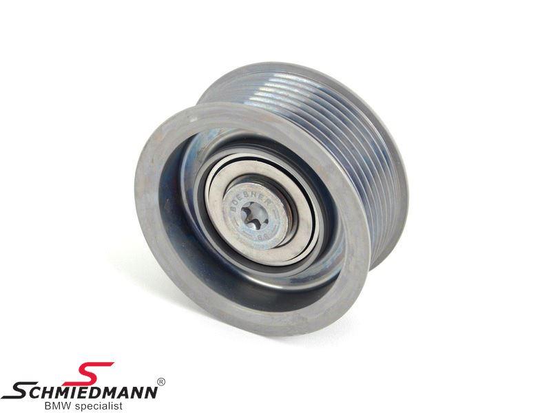 Deflection pulley alternator/aircon/power steering belt