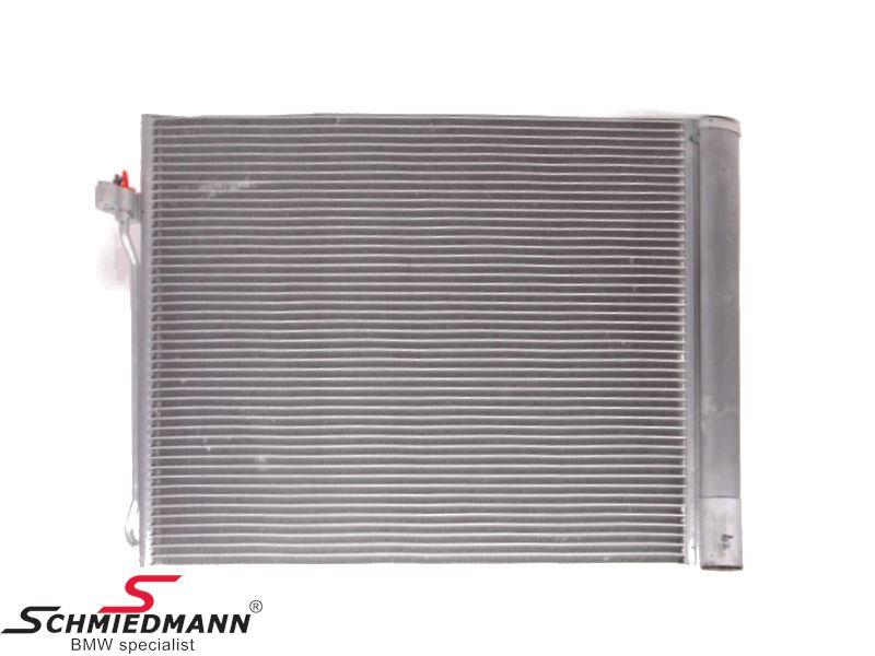 Klimakøler (kondensator) med tørfilter