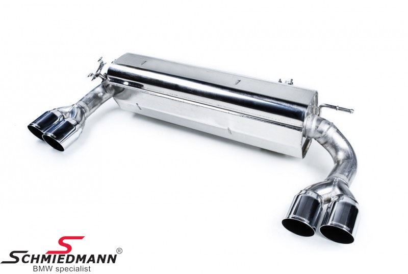 Eisenmann sport rear silencer 4XØ76MM