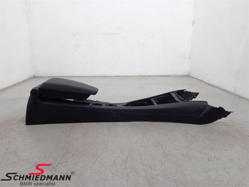 Armrest kit imitat black