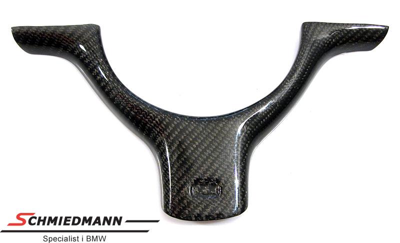 Carbon Lenkradabdeckung schwarz für M-Technic Sportslenkrad