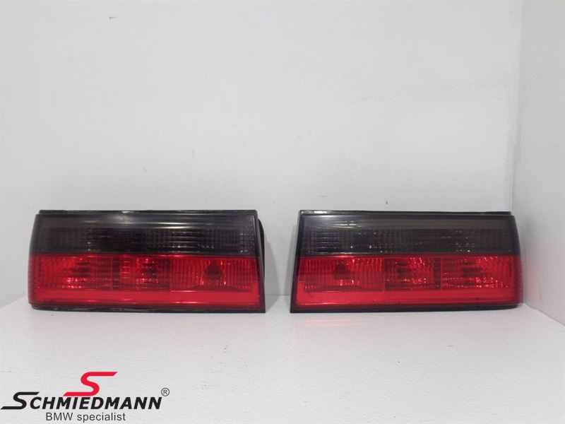 "Taillights crystal red/black ""big"""