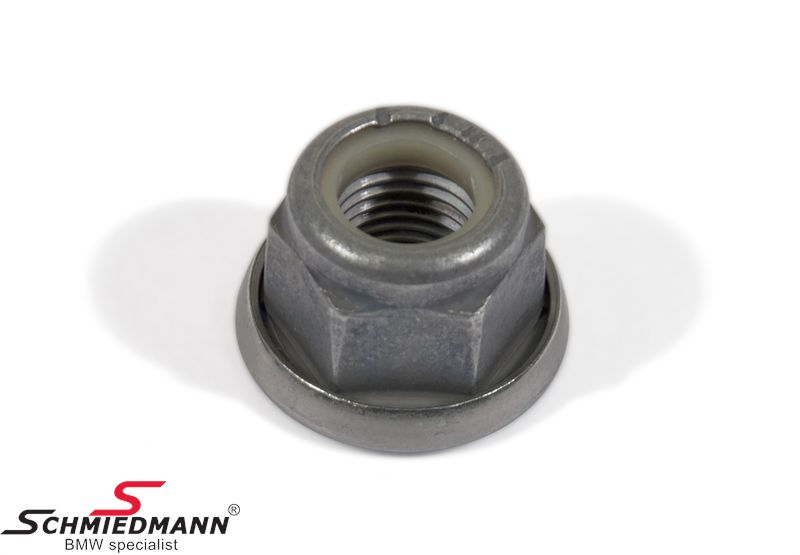 Combination nut M14X1,5-10ZNNIV, fits among others tie rods and wishbones