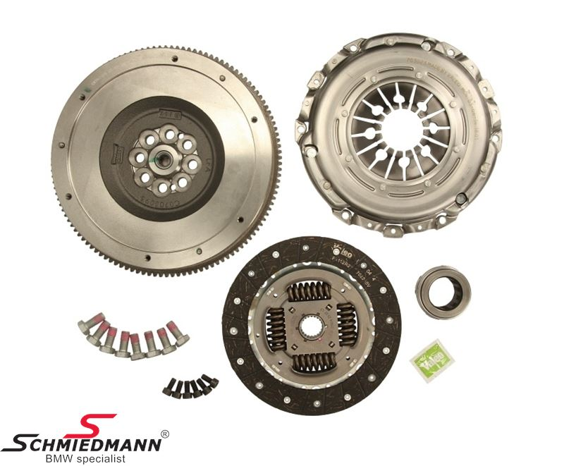 Clutch/flywheel kit, conversion from double mass to single mass flywheel - Original Valeo Germany