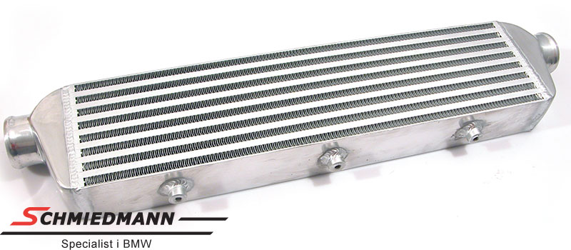 Intercooler universal without mounting parts 550X140X65MM pipe dia. 76MM