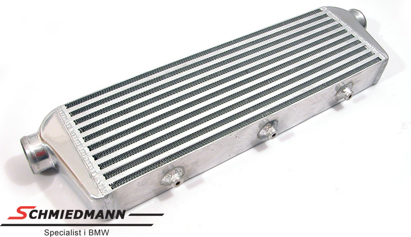 Intercooler universal without mounting parts 550X180X65MM pipe dia. 58MM