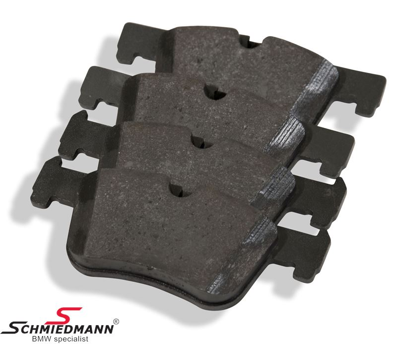 Brake pads front - original Hella Germany