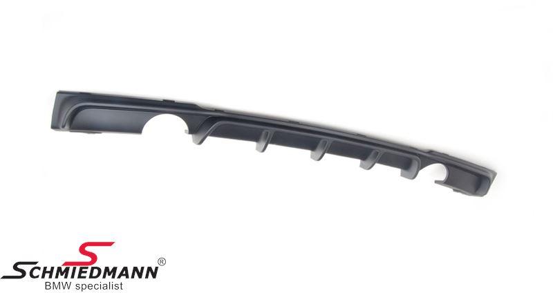 Rear apron trimpanel for M-Technic rearskirt
