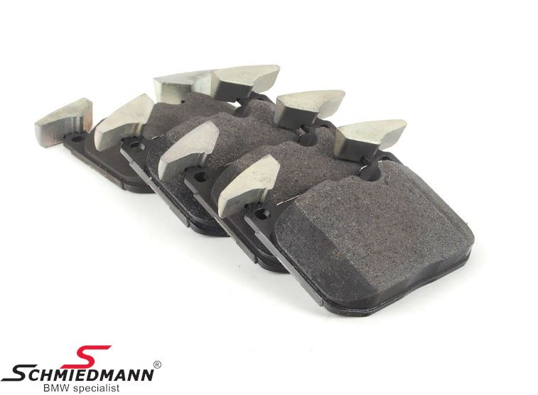 Brakepads front for BMW ///M Performance systems - original Hella Germany