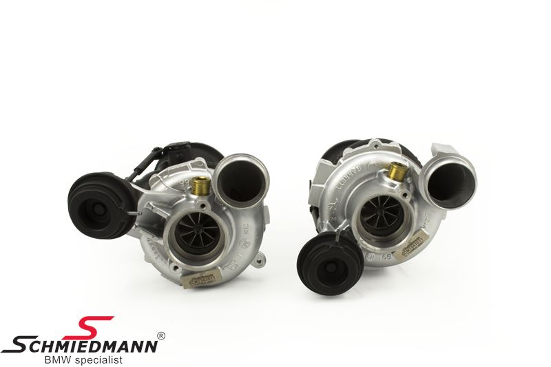Schmiedmann signature stage 1 ombytnings turbo-kit op til 700HK