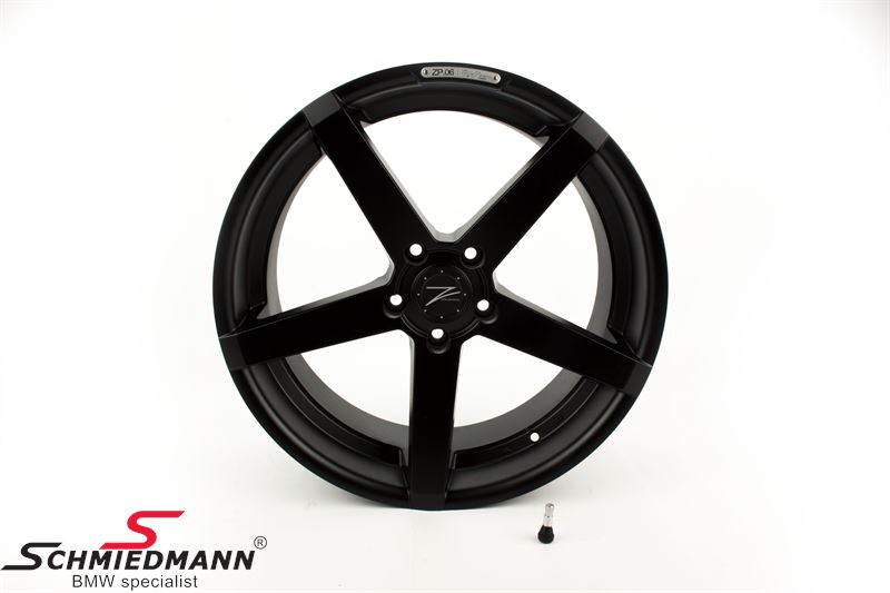"20"" Z-Performance -Type 6- rim 8,5x20 ET35, Matte Black"