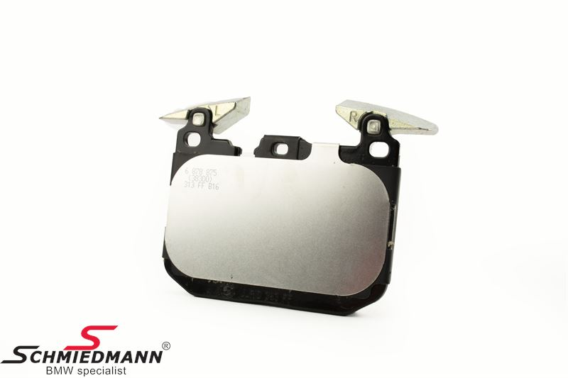Brakepads front for BMW ///M Performance systems