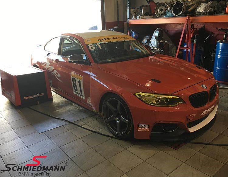 M235I Racing wide-body kit genuine carbon - Original BMW