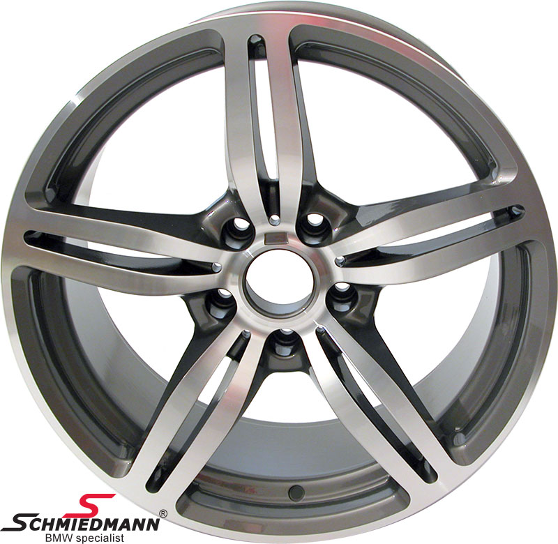 "19"" M6 Doppelspeiche 167 rim, 9,5X19 (original BMW fits only rear)"