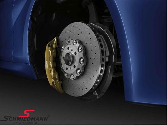 BMW ///M-Performance retrofit kit carbon-ceramic brakes front+rear - Original BMW