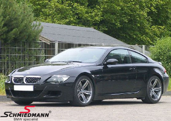 "19"" 8,5+9,5x19 M6 Doppelspeiche 167 polished with 245/35+275/30/19 (original BMW)"