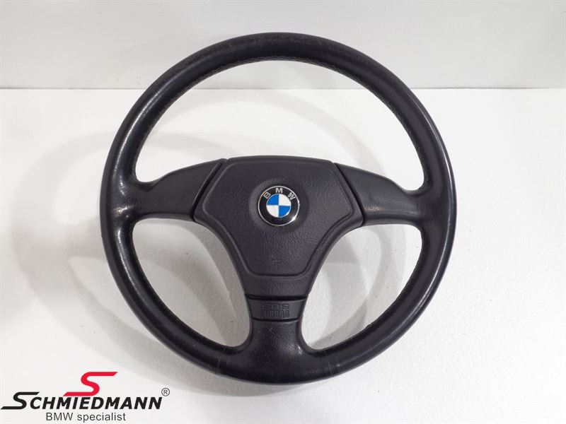 Airbag Steeringwheel Leather