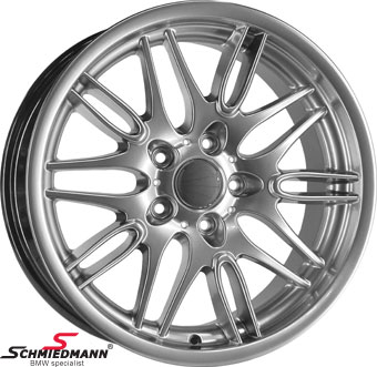 "18"" M5 M-Doppelspeiche 65 Chrom shadow rim 8X18 (original BMW)"