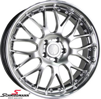 "18"" Rennsport wheel 8X18 (with stainless steel lip)"