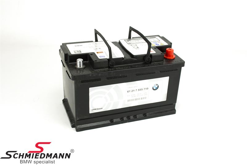 AGM batteri original BMW 80AH